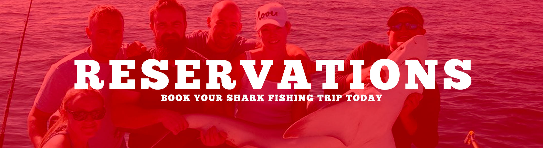 Make your reservation today for the shark fishing trip of a lifetime in Central Florida.
